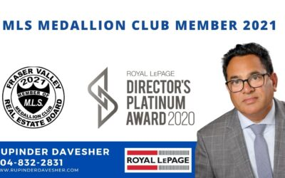 MLS Medallion Club Member 2021