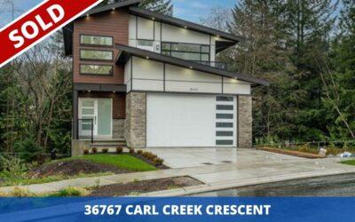 Sold: 36767 CARL CREEK CRESCENT
